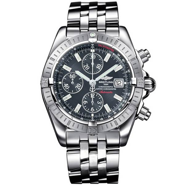 Часы Breitling Chronomat Evolution Graphite Dial фото
