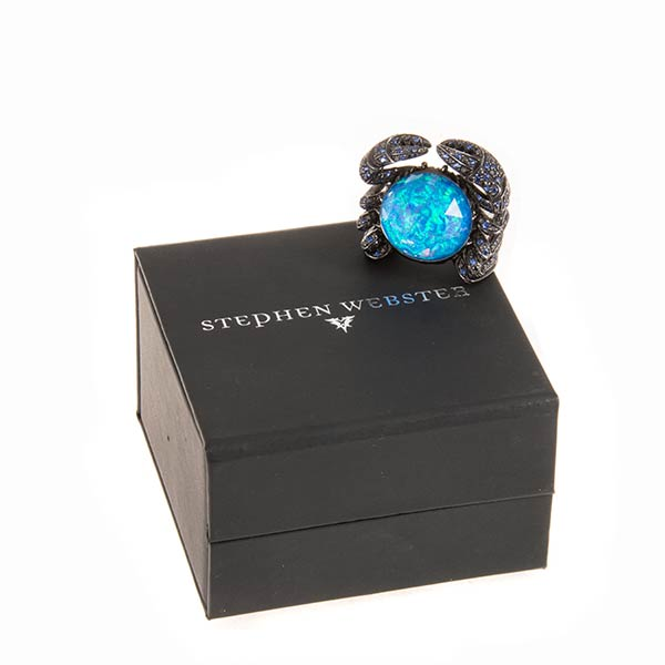 Ювелирные украшения Stephen Webster Jewels Verne Crab Crystal Haze Ring фото