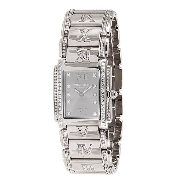 Швейцарские часы Patek Philippe Twenty 4 White Gold 4910/41G фото