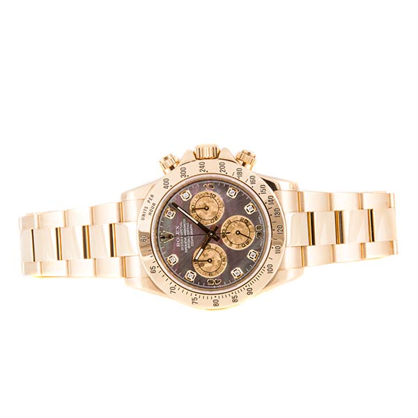 Швейцарские часы Rolex Cosmograph Daytona Yellow Gold Crystals Diamonds фото