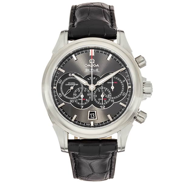 Часы Omega De Ville Chronograph Co-Axial 4-Counter Automatic фото