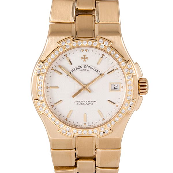 Часы Vacheron Constantin Overseas Yellow Gold & Diamonds фото