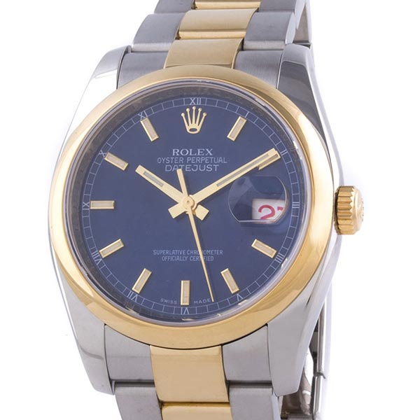 Часы Rolex Datejust 36 mm Steel and Yellow Gold фото