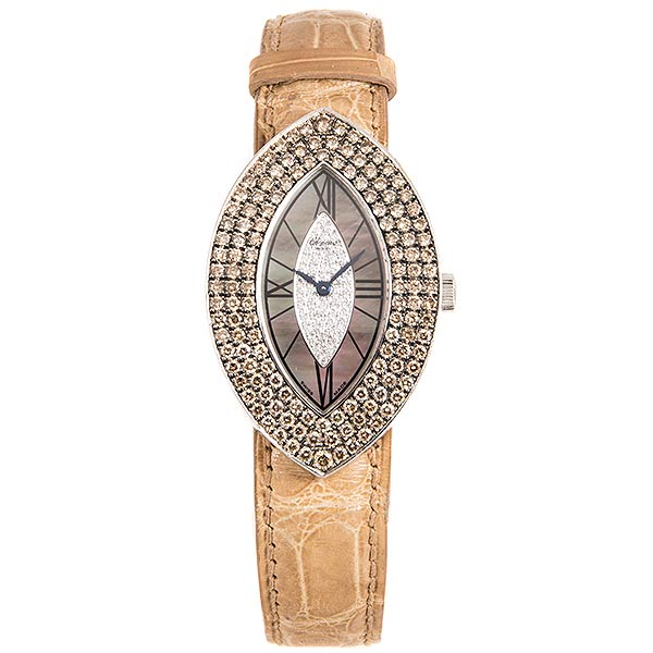 Часы Chopard Ladies Classics White Gold&Diamonds фото