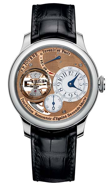 Фото часов F.P. Journe Tourbillon Souverain Vertical