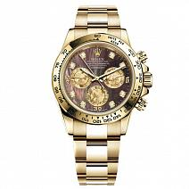 Часы Rolex Cosmograph Daytona Yellow Gold Diamonds фото