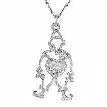 Ювелирные украшения Chopard Happy Diamonds Clown Pendant фото