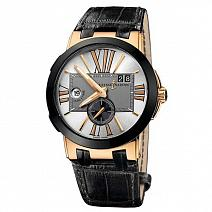 Швейцарские часы Ulysse Nardin Executive Dual Time 43 mm фото