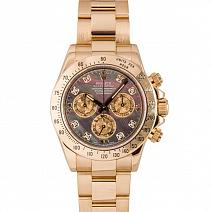 Швейцарские часы Rolex Cosmograph Daytona Yellow Gold Diamonds фото