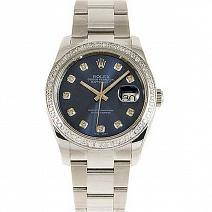 Часы Rolex Datejust 36 mm 116200 Blue Dial фото