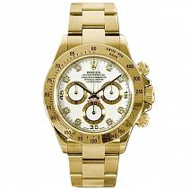 Швейцарские часы Rolex Cosmograph Daytona Yellow Gold 116528 фото