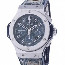 Часы Hublot Big Bang Jeans Steel 44 mm фото