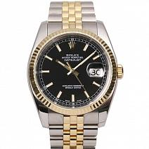 Швейцарские часы Rolex Datejust 36 mm Steel and Yellow Gold фото