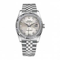 Швейцарские часы Rolex Datejust 36mm Steel and White Gold фото