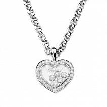 Ювелирные украшения Chopard Подвеска Happy Diamonds Heart фото