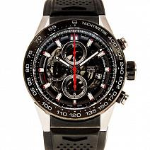 Часы Tag Heuer Carrera Calibre Heuer 01 Automatic Chronograph фото