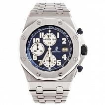 Швейцарские часы Audemars Piguet Royal Oak Offshore Chronograph Navy Blue фото