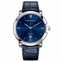 Швейцарские часы Harry Winston Midnight Automatic 42 мм White Gold фото