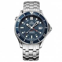 Часы Omega Seamaster Diver 300M Co-Axial GMT фото