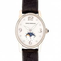 Швейцарские часы Girard-Perregaux Cats Eye Moon Phases  фото
