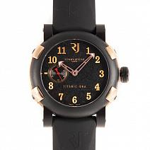 Швейцарские часы Romain Jerome Titanic-DNA Five Black фото