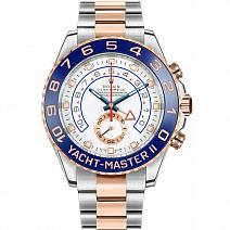 Швейцарские часы Rolex Yacht-Master II 44mm Steel and Everose Gold фото