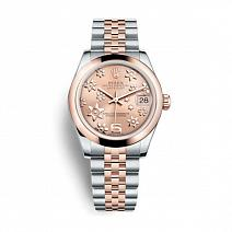 Швейцарские часы Rolex Datejust 31 mm Steel and Everose Gold фото